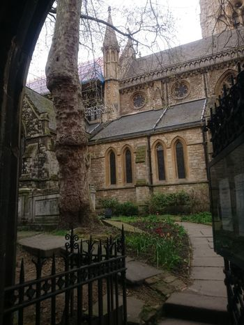 Arch Architectural Column Architecture Belief Building Building Exterior Built Structure Courtyard  Day History Nature No People Outdoors Place Of Worship Plant Railing Religion Spirituality The Past Tree