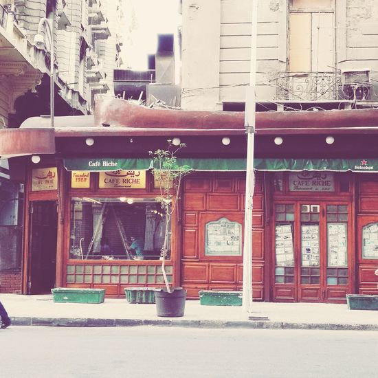 Reshcafe Cairo Egypt Cairobeauty Cairo Streets Photography Cairobyme Cafeculture Cafelifestyle CairoStreetArt Architecture Built Structure No People Building Exterior Travel Destinations Outdoors Day City