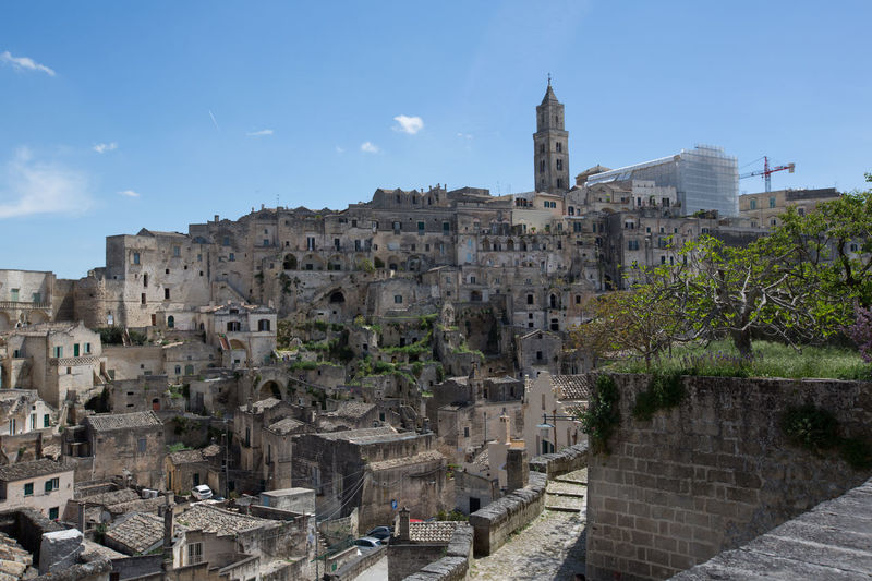 Aerial View Ancient Ancient Civilization Architecture Building Exterior Built Structure Castle Church City Community Composition Culture Famous Place History Human Settlement International Landmark Old Old Ruin Outdoors Perspective Religion Sassidimatera The Past Top Perspective