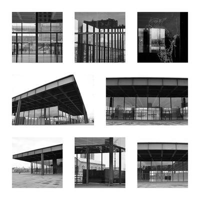 Berlin Architektur Architecturephotography Architecture Neuenationalgalerie Deutschland Germany Schwarzweiß Monochrome