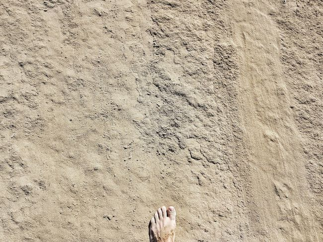 | Walking on the moon | Me Myself And I Walking EyeEmItaly Bibione Pineda Low Section Beach Backgrounds Sand Full Frame Pattern Textured  Human Leg Close-up FootPrint Sandy Beach Sand Dune