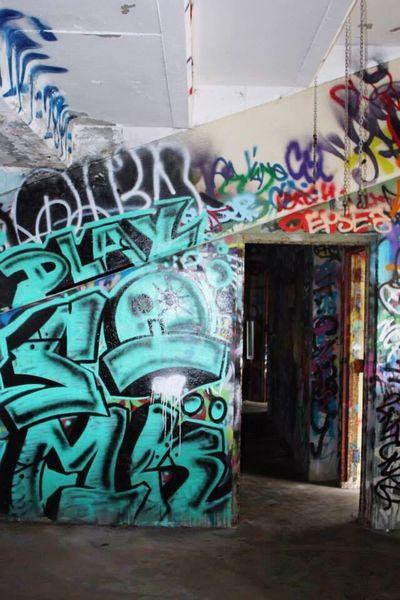 Offices?. . . .(Abandoned Miami Marine Stadium Key Biscayne, FL)