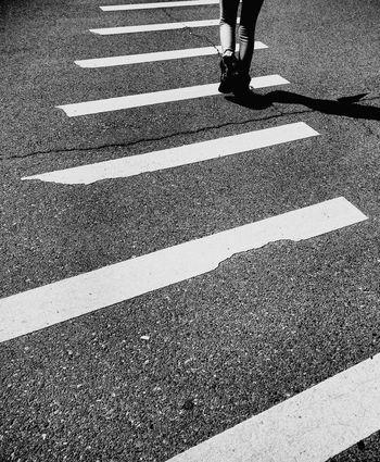 Black And White Crosswalk Walk Feet On The Ground Monochrome Photography