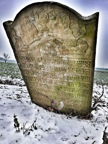 R.I.P. Outdoors Snow Winter Cementery Jewish✡🕇☗ Jewish Cemetery Jewish Culture Old Jewish Cemetery Zidovsky Cintorin Cold Temperature Day No People