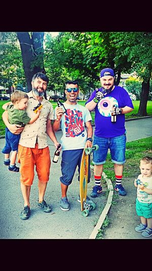 Uncledaddypark People Smiling Park DaddiesWorld Downtown Sofia Mobilephotography Beer мишка🐻 Longboarding