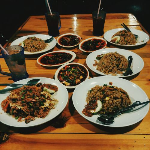 Spicy foods!