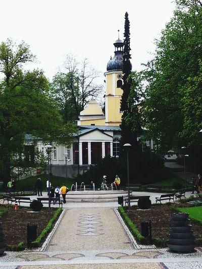 Poland Lądek -zdrój Dolnyslask