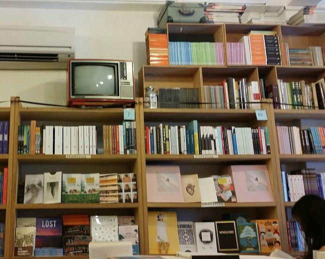 Shelves Books Tiong Bahru Bookshop Retro Singapore