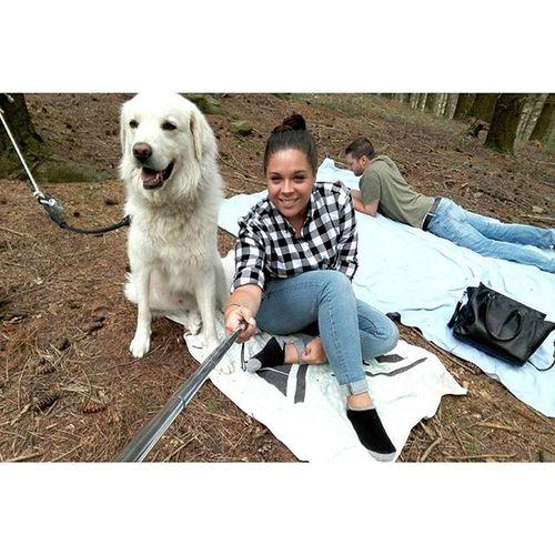 I miei 2 amori grandi ♡ Animals Puppy Dog Neve Boyfriend Ferragosto2015 VSCO Vscocam