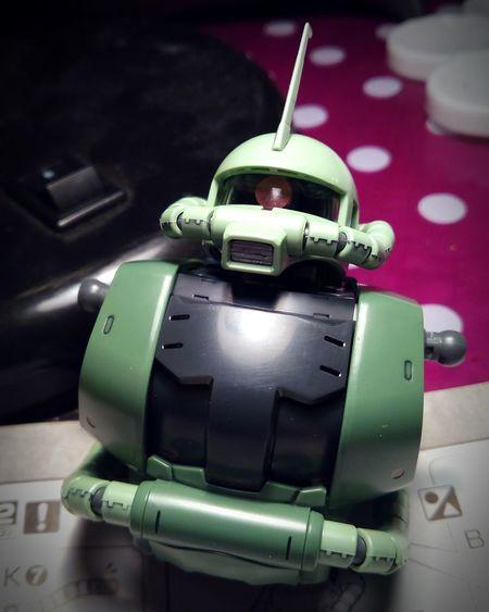 Zaku II MS-06J build update Gunpla Zaku BANDAI Gundam Modelkit