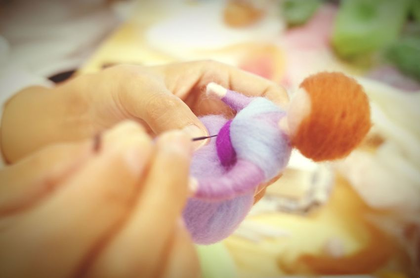 Hands At Work Craft Felt Fairy