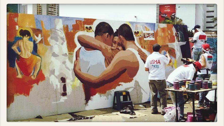 Calico Bienal2014 Streetphotography Art Urban Art Painting Wall Art