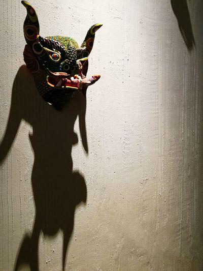 Mask Alebrije Shadow Body In Shadow