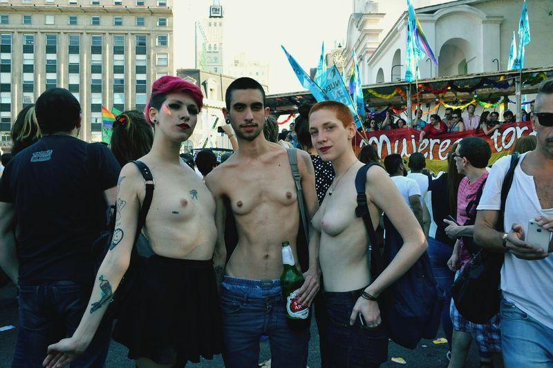 MarchaDelOrgullo LGTB Colorada Transexuel Lesbianas Transgenero