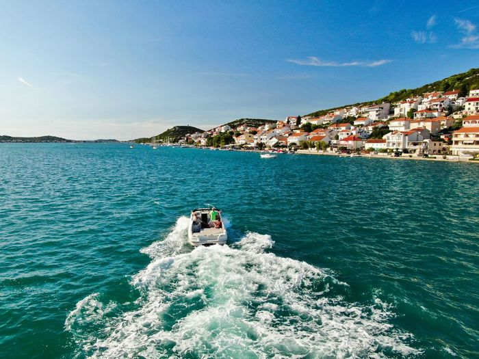 Tisno from Boat