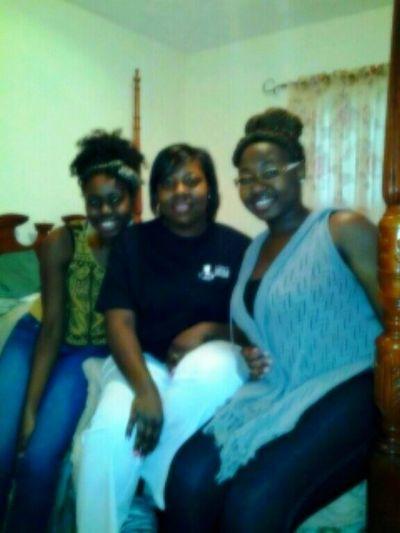 Mom, sis and I #Christmas 2012