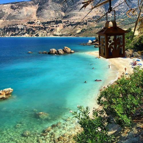 Paradise...without filter. Sea Kefalonia Vouti Beach Paradise Getting A Tan The Traveler - 2015 EyeEm Awards Enjoying Life Relaxing Swimming EyeEm Gallery