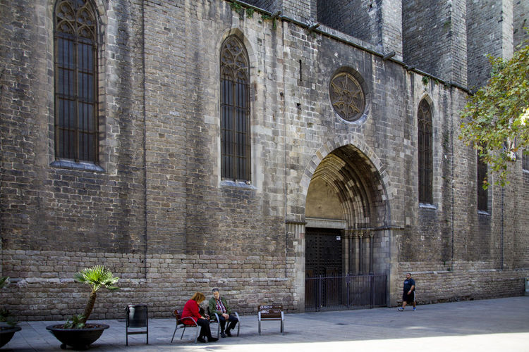 Gothic cathedral Santa Maria del Pi, Barcelona Building Architecture Architecture_collection Catalunya Cathedral Gothic Gothic Architecture Historical Building Place Of Worship Santa Maria Del Pi Architecture Building Exterior Built Structure Day Gothic Cathedral Historic Outdoors Place Of Religion Tourist Destination Travel Destination Travel Destinations