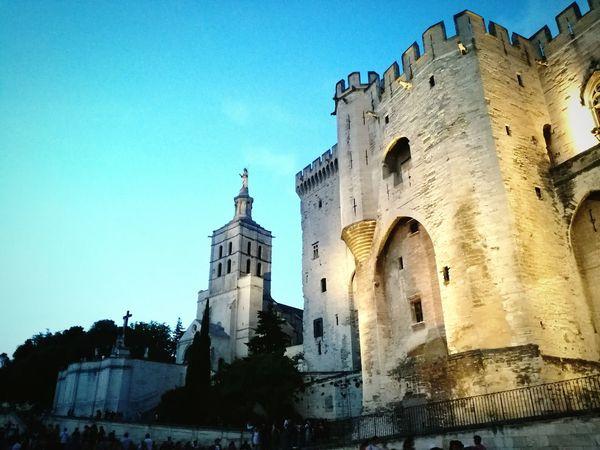 Architecture Medieval Palais Des Papes City Street City Avignon AvignonFestival Architecture Building Exterior
