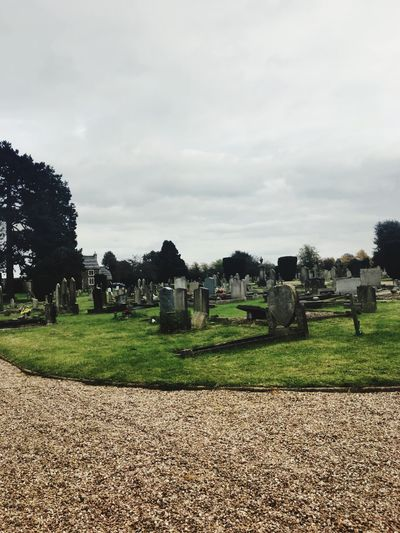 EyeEm Grass Tree Sky Nature Outdoors No People Day Cemetery Cemetery Photography Cemetery_shots