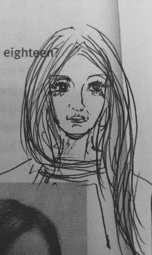 Sad girl at English lesson... English Lesson Sad By Me Abramova