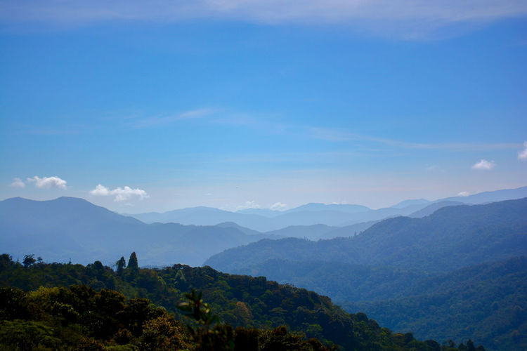 Orosí, Cartago, Costa Rica Beauty In Nature Day Landscape Mountain Mountain Range Nature No People Outdoors Scenics Sky Tranquil Scene Tranquility Tree
