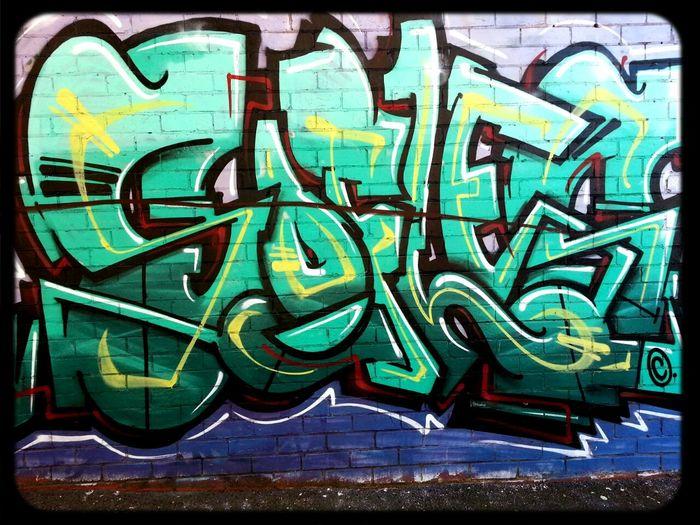 Sofles Graffiti Streetart copyright in Melbourne
