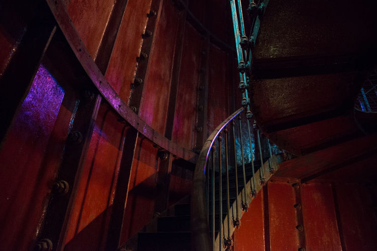 Inside Tahkuna Lighthouse: https://en.wikipedia.org/wiki/Tahkuna_Lighthouse Circular Stairway Close-up Est Hiiumaa Illuminated Inside Lighthouse Iron Light And Shadow Light In The Darkness Lighthouse No People Old Railings Railings And Iron Stairs Tahkuna Lighthouse