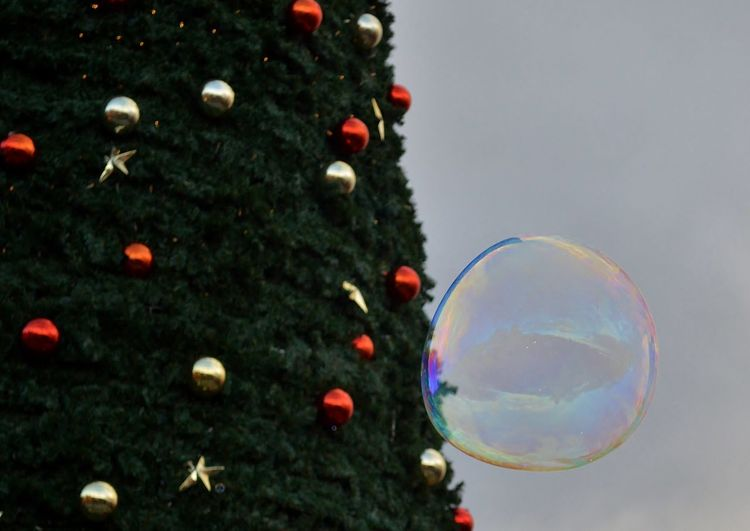 Baubles Big Bubble Bubble Check This Out Christmas Christmas 2016 Christmas Decoration Christmas Ornament Christmas Tree Christmas Trees Hello World Hi Merry Christmas Multi Colored Nikon Nikon D3200 Outdoors Tree Xmas