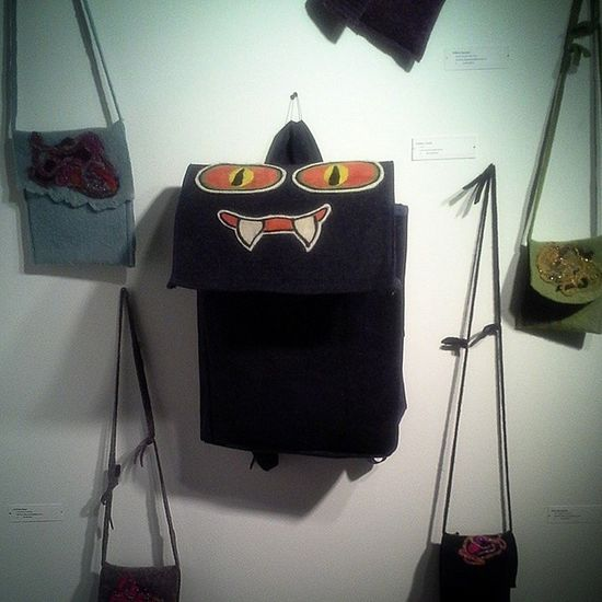 Favourite Works DPS Student Show: Growl by Fabiha Tursha Bag Student_art