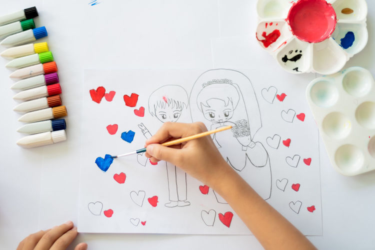 Accessories Activity Art Artistic ArtWork Background Beautiful Boy Brush Child Childhood Children Color Colorful Concept Craft Creative Creativity Deaf Design Drawing Education Girl Hand Handmade Happy Heart Hobby Kid Kids Learning Make Paintbrush Painting Palette Paper People person Red Relaxation School Tools Watercolor White Work Working Workplace Young