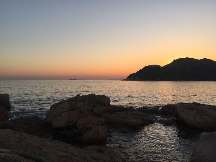 Things I Like Landscape Sunset HongKong Seaside Roadlesstravelled Travel Wanderlust Water