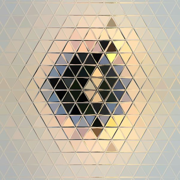 EyeEm Selects Brushed Metal Seamless Pattern Backgrounds Full Frame Metal Grate Pattern Triangle Shape Silver - Metal Metal Grid Crisscross Diamond Shaped Hexagon Honeycomb Grate Beehive Architectural Design Geometric Shape
