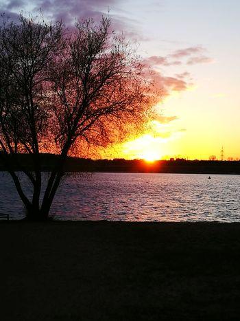 Sunset Beauty In Nature Sky Cloud - Sky No People Orange Color