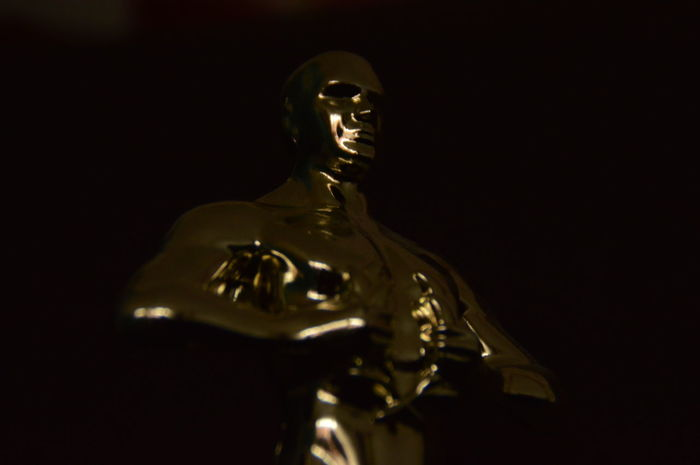 Oscars2016 Leonardodicaprio  Blackandgold Oscar First Eyeem Photo