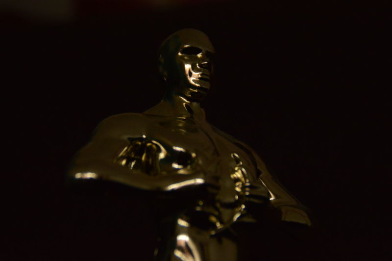 Oscars2016 Leonardodicaprio  Blackandgold Oscar First Eyeem Photo