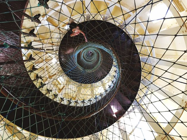 Amazing interior of the Amedee Lighthouse Check This Out Eyeemphotography Halfcenturytraveller EyeEmBestPics EyeEm Best Shots EyeEm Gallery Travelphotography Travel Photography Lighthouse Lighthouse_lovers Architecture Architectural Feature Architecturelovers Spiral Staircase Spiral New Caledonia Travel Destinations Noumea