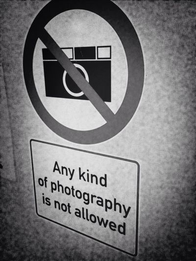 Picture Photography Camera Prohibited