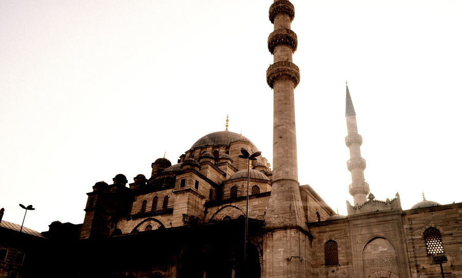 Architecture Building Exterior Built Structure Capital Cities  Clear Sky Dome Famous Place High Section History Islam Istanbul Low Angle View Moscow Mosque Mosque Turkey No People Outdoors Place Of Worship Religion Sky Spirituality Tourism Travel Travel Destinations Travelling