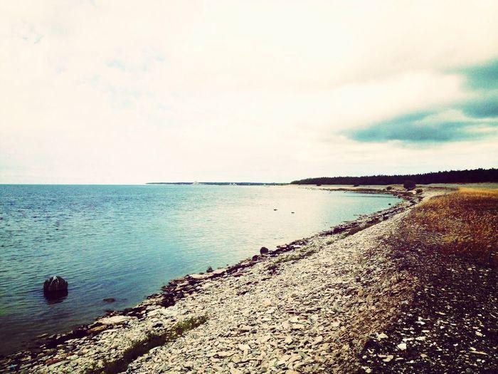 Ocean Landscape Sweden Colors