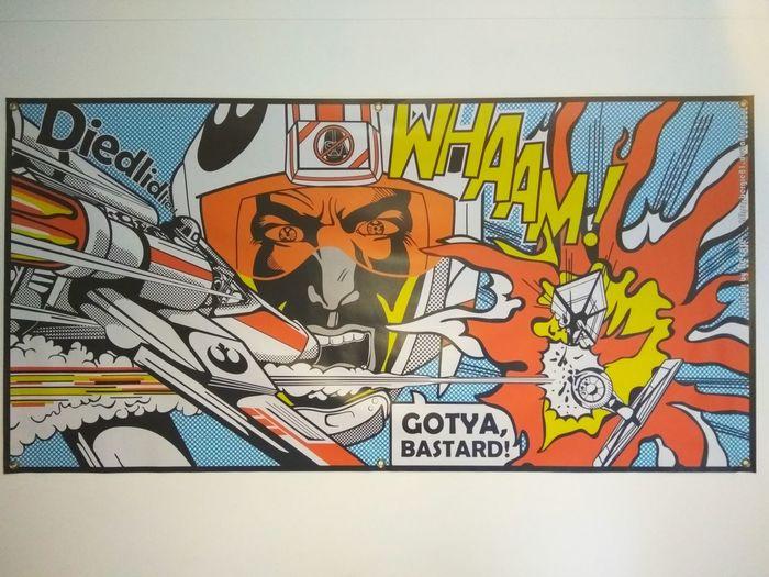 Pop Art Star Wars ArtWork Art By Thomas Bergman Bergie81