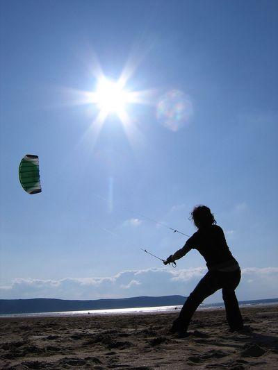 Kite Flyer Kite Kite Flyer Kite Flying Power Kite Women Who Inspire You Women In Sports Beach Fun At The Beach ♡ Sand Sun Flare Kite Lines Summer
