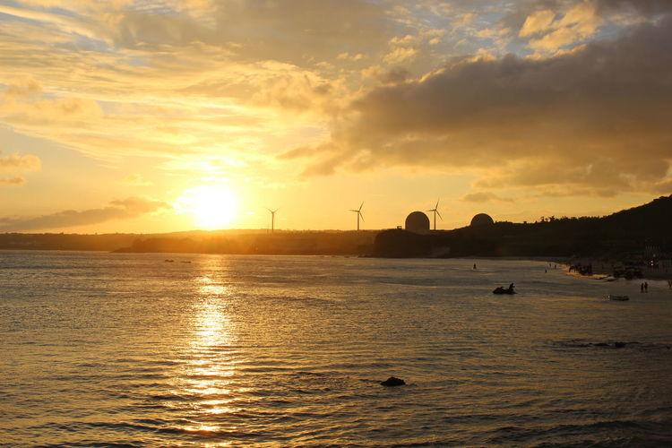 垦丁海边的夕阳。 First Eyeem Photo
