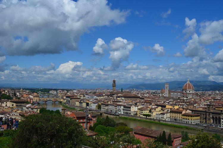 The Great Outdoors - 2016 EyeEm Awards Landscape Landscape_photography Landscape_Collection Florence Firenze Italy Beautiful View City City View  Nikon Nikonphotography Nikon D5100  Nofilter Nofilternoedit EyeEm EyeEm Best Shots Blue Sky Sky And Clouds