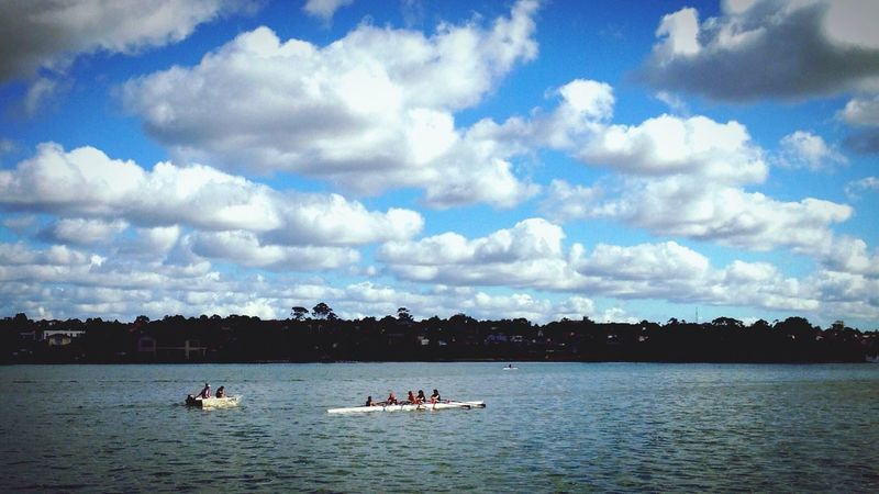 Trying out new EyeEm filter Leonie Filter while enjoying Soaking Up The Sun Outdoors in Sydney This is Iron Cove.