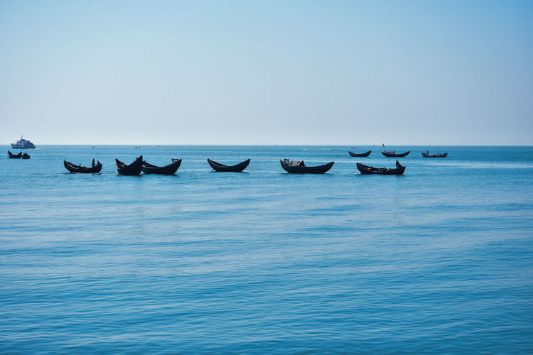 Blue goes into the Blue <3 Bangladesh Canon77d Cox's Bazar, Bangladesh Bangladeshiphotographer Beauty In Nature Blue Boat Canonphotography Chittagong Horizon Over Water Into The Blue Marine Nature Nautical Vessel No People Saintmartin Saintmartinisland Sea Sky Transportation Vertebrate Water The Great Outdoors - 2018 EyeEm Awards