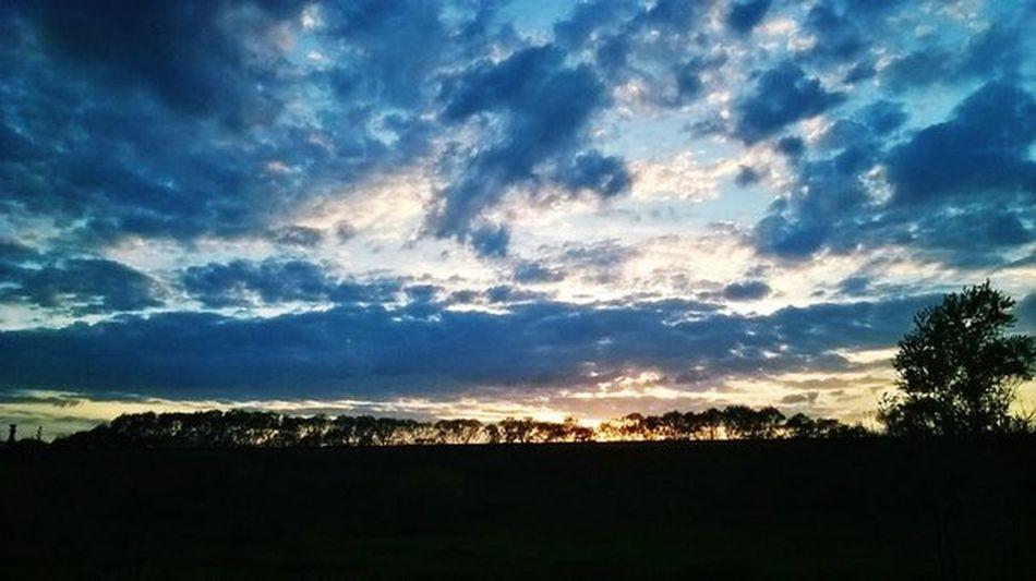 Dramatic Sky Landscape Cloud - Sky Nature Sunset Silhouette Sunlight Astronomy No People