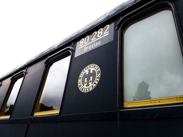 Fladungen Wagon  Bayern Built Structure Close-up Day Low Angle View No People Outdoors Steam Train Transportation Window EyeEmNewHere