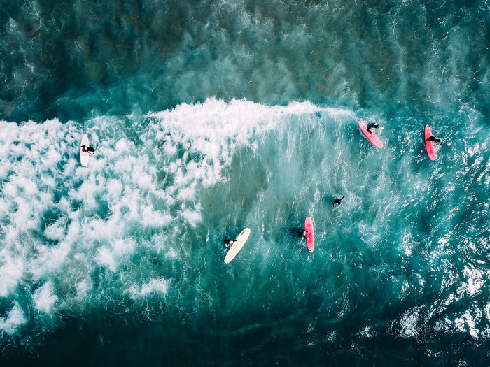 Beautiful Drone  Nature Ocean View Sunny Surfer The Traveler - 2018 EyeEm Awards Turquoise Colored View Above Aerial Background Beach Coast Destination Mavi Motion Ocean People Sea Shore Structure Surfboard Surfing Water The Great Outdoors - 2018 EyeEm Awards My Best Photo
