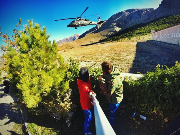 GoPro Hero3+ Gopole Goprooftheday Goproselfie Heliport Kampfsport Niğde Deafworld Happy Gopro Shots